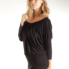 Black Marie-Jane top