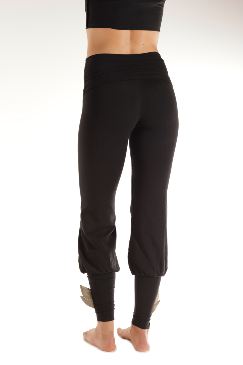 Black Celeste Pant with wings
