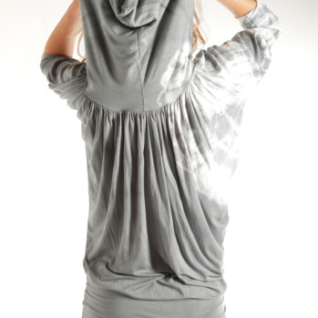 Silver Houdini Short Sleeve Top