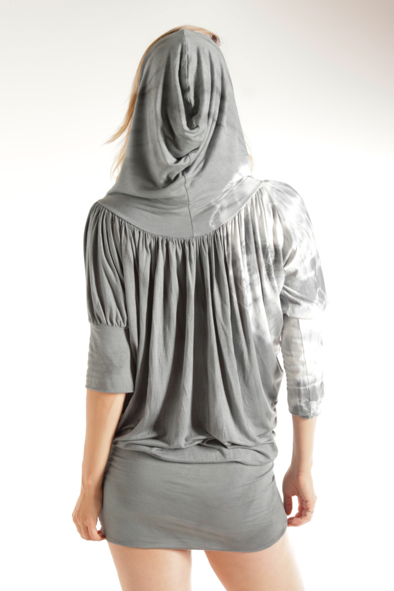 Silver-houdini-short-sleeve-top