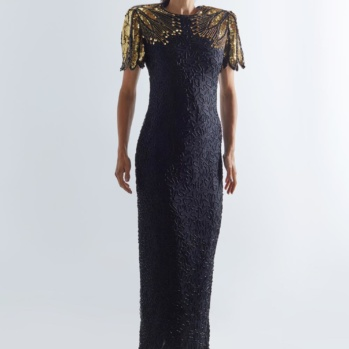 'As the world turns' dress