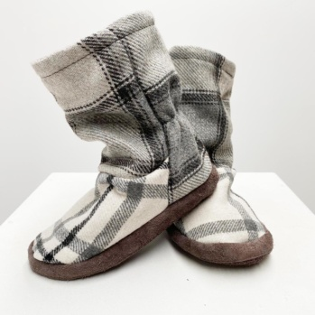 Flannel Nelly slippers