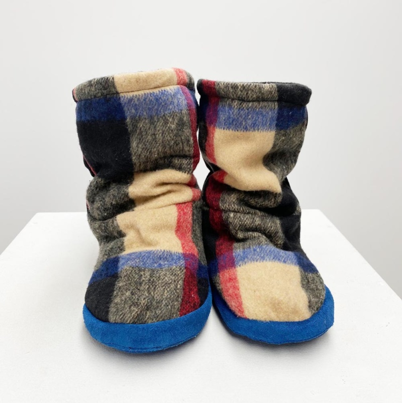 Burry Blue slippers